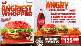 Angry Meal  Burger King Indonesia